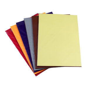 A4 Colored Pastel Sheet Practical